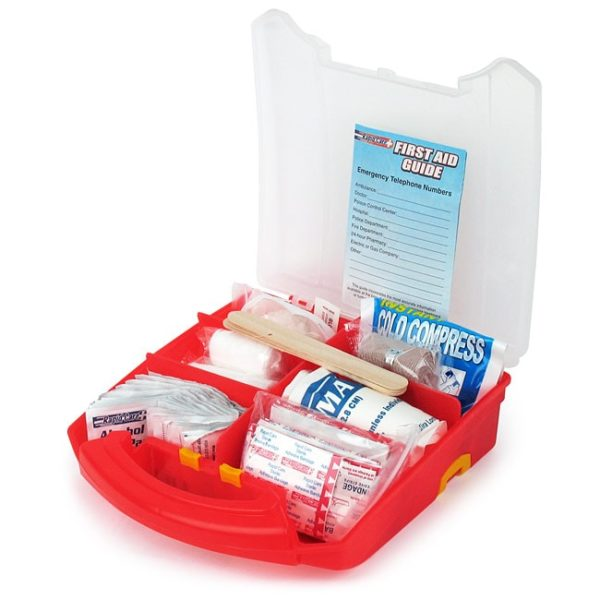 Open Lid First Aid Kit with 183 Pieces