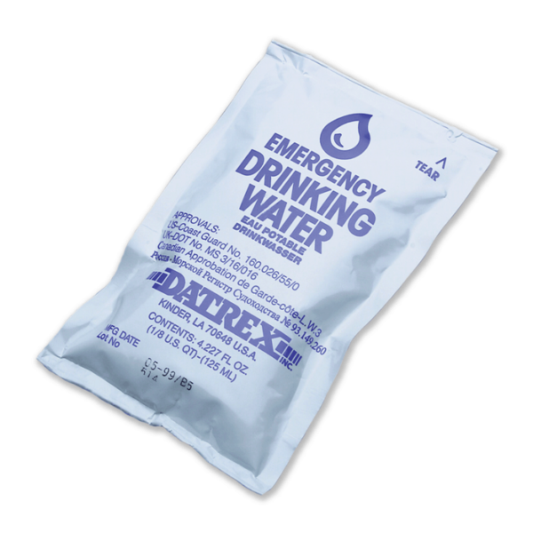 Datrex Emergency Water Pouches