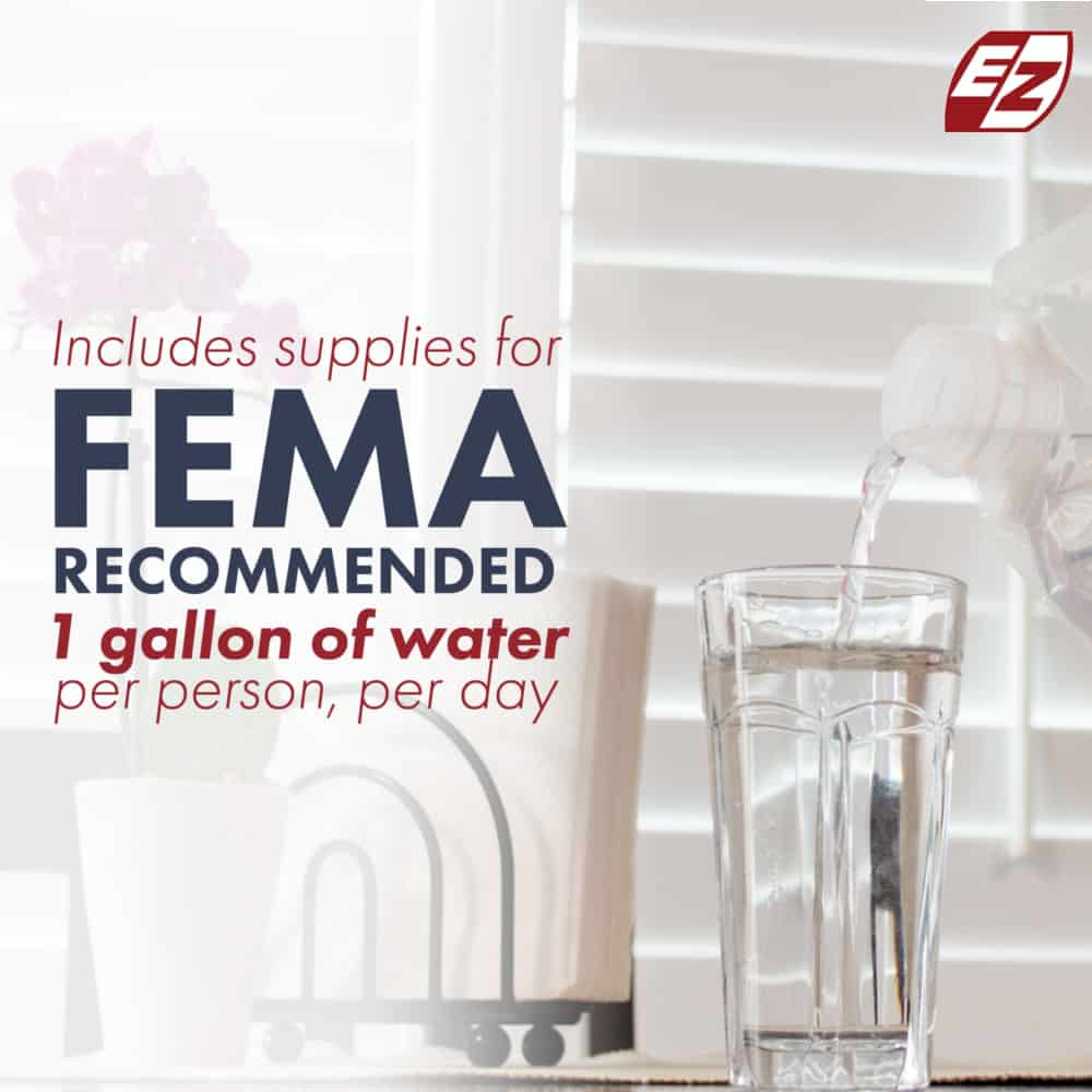Fema Recommended Water Consumption