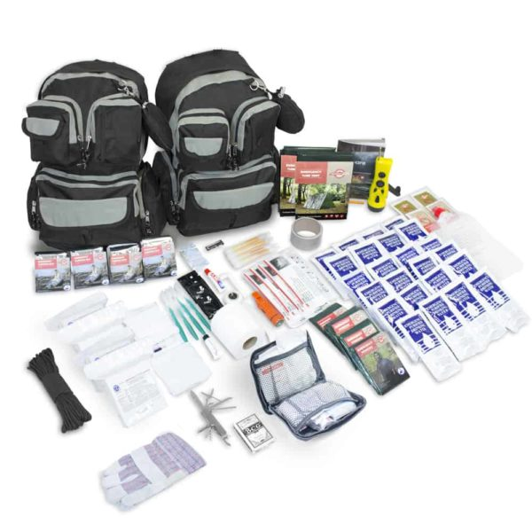 Urban Survival Bug Out Bag - 4 Person