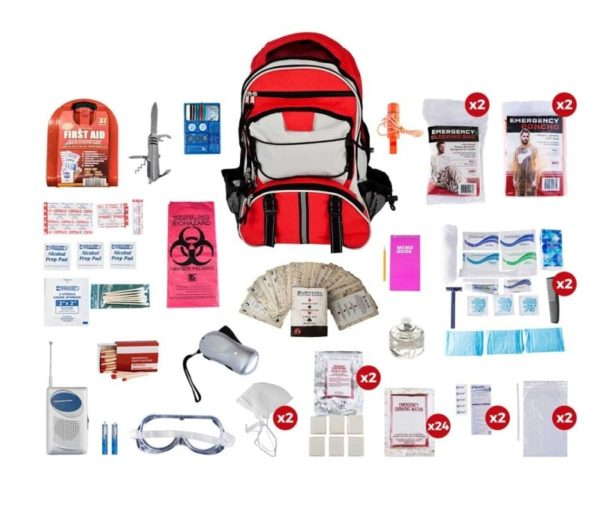Deluxe 72 Hour Survival Kit - 4 Person Emergency Bags Deluxe 72 Hour Survival Kit - 4 Person Emergency Bags